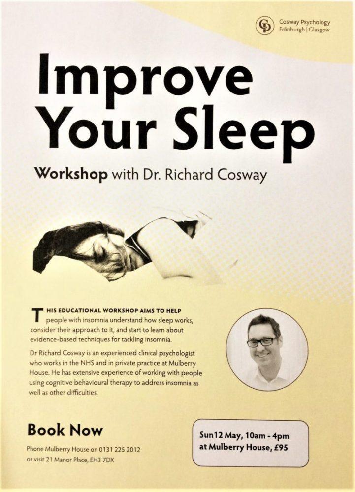 improve your sleep workshop