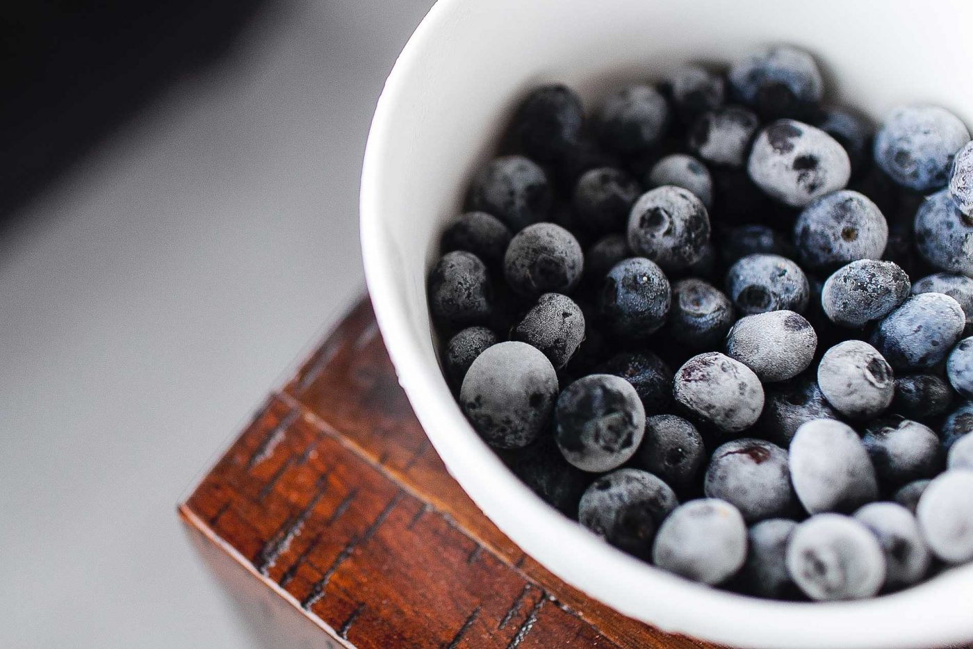 nutritional therapy - blueberries in a bowl