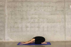 Yoga Classes - Woman in Child's Pose